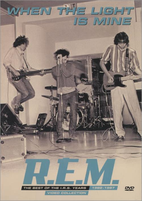 REM When The Light Is Mine - The Best Of The I.R.S. Years DVD US REMDDWH459649