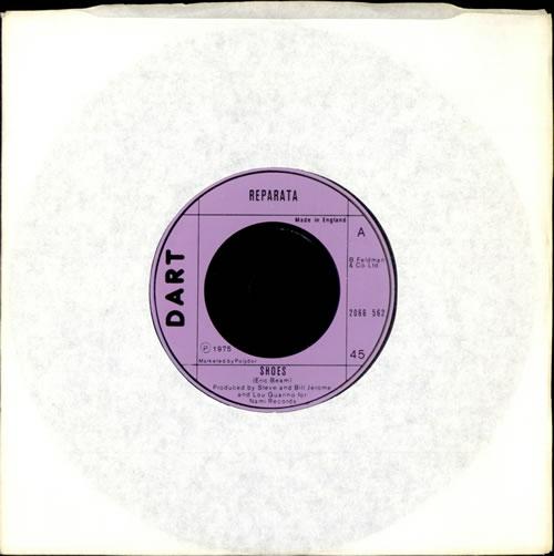 "Reparata Shoes 7"" vinyl single (7 inch record) UK RT907SH503996"