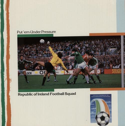 "Republic Of Ireland Football Squad Put 'Em Under Pressure 12"" vinyl single (12 inch record / Maxi-single) UK RUL12PU218724"