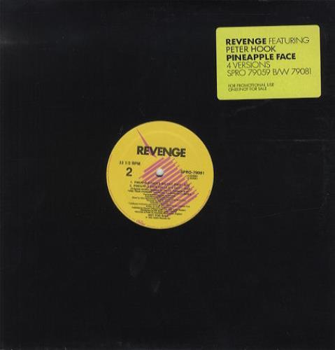 """Revenge Pineapple Face 12"""" vinyl single (12 inch record / Maxi-single) US REV12PI17780"""