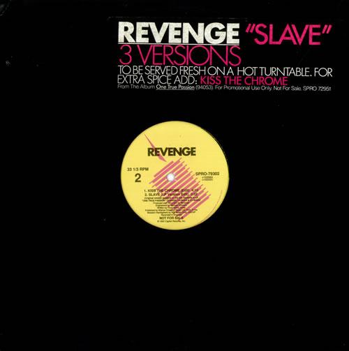 """Revenge Slave 12"""" vinyl single (12 inch record / Maxi-single) US REV12SL184967"""