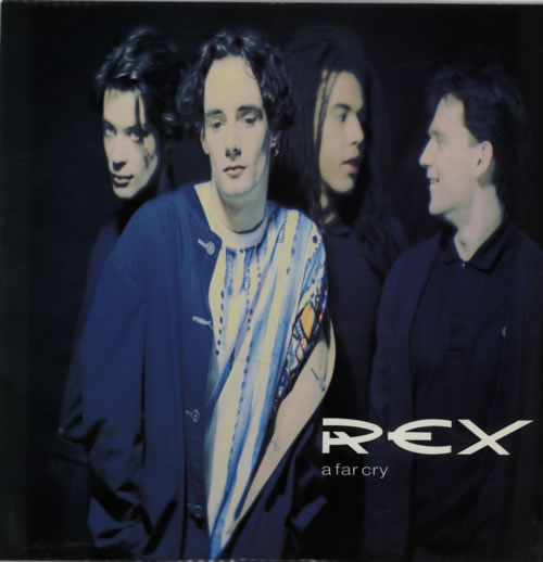 """Rex A Far Cry 12"""" vinyl single (12 inch record / Maxi-single) UK R9212AF606175"""