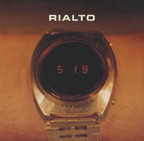"Rialto 5:19 CD single (CD5 / 5"") German RIAC5280966"