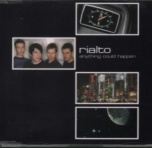 "Rialto Anything Could Happen CD single (CD5 / 5"") UK RIAC5AN666948"