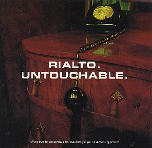 "Rialto Untouchable CD single (CD5 / 5"") UK RIAC5UN164714"