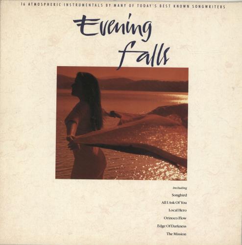 Richard Harvey Evening Falls vinyl LP album (LP record) UK RI-LPEV692572
