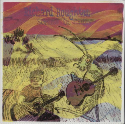 Richard Houghten Sonata De Grillo - Clear Yellow/Blue Splatter + Screen Print p/s vinyl LP album (LP record) US YIVLPSO680696
