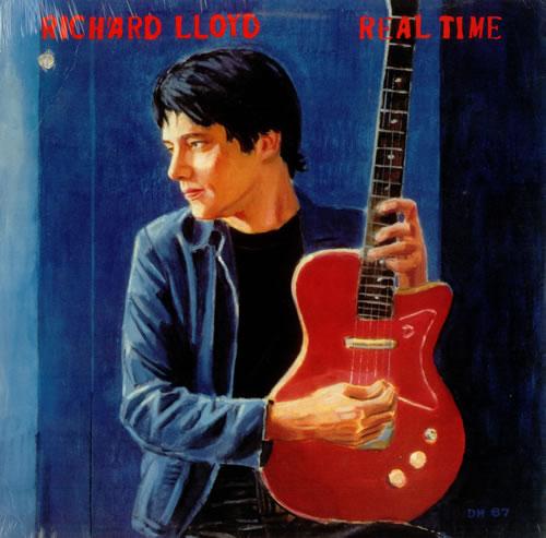 Richard Lloyd Real Time - Sealed vinyl LP album (LP record) US RI0LPRE455279