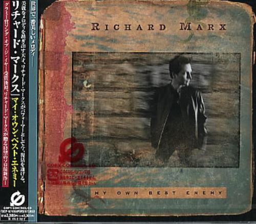 Richard Marx My Own Best Enemy CD album (CDLP) Japanese MRXCDMY292472