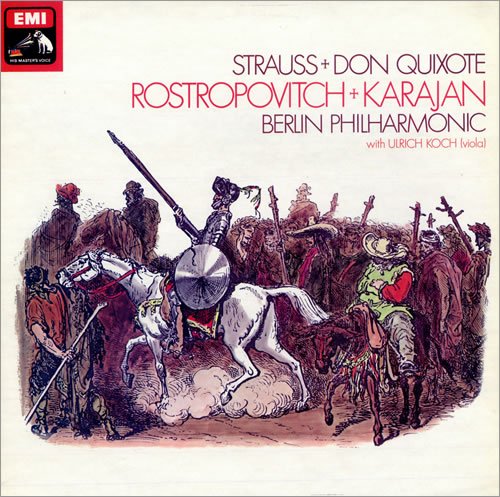 Richard Strauss Don Quixote vinyl LP album (LP record) UK RG6LPDO481829