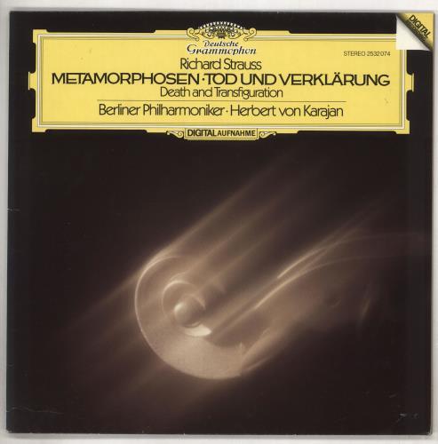 Richard Strauss Metamorphosen / Tod Und Verklärung vinyl LP album (LP record) German RG6LPME737426