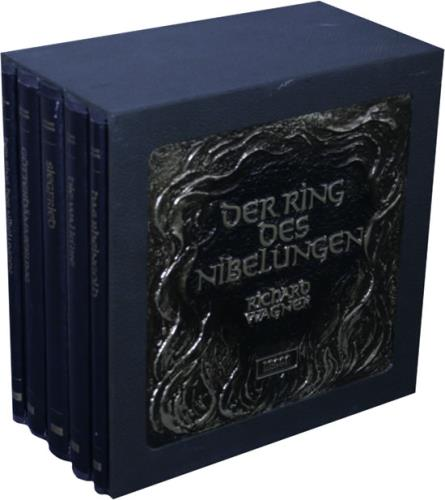 Richard Wagner Der Ring Des Nibelungen - Georg Solti Vinyl Box Set UK WGXVXDE529002