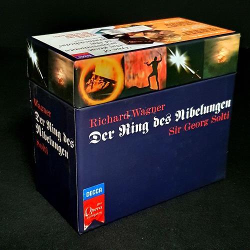 Richard Wagner Der Ring Des Nibelungen CD Album Box Set German WGXDXDE758901