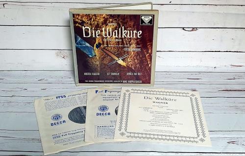 Richard Wagner Wagner: Die Walküre Act One Complete / Götterdämmerung Vinyl Box Set UK WGXVXWA751907