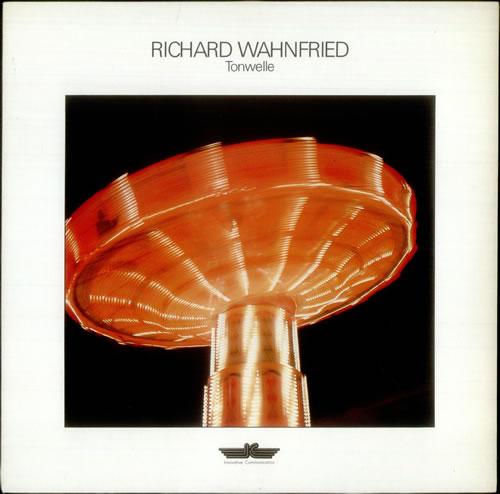 Richard Wahnfried Tonwelle vinyl LP album (LP record) German R2LLPTO539844