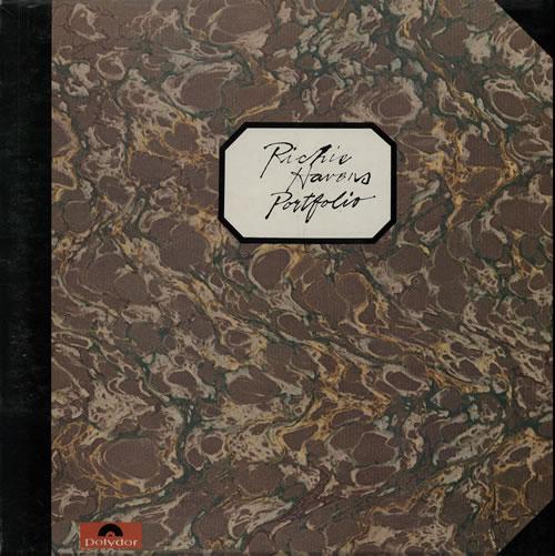 Richie Havens Portfolio vinyl LP album (LP record) UK CHVLPPO565614