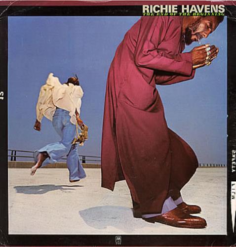 Richie Havens The End Of The Beginning vinyl LP album (LP record) US CHVLPTH298095