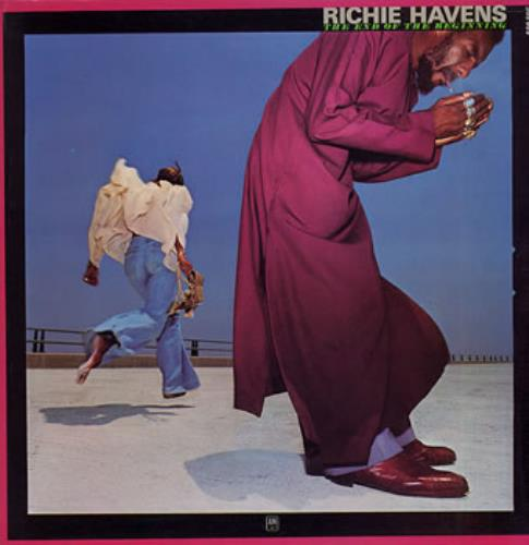 Richie Havens The End Of The Beginning vinyl LP album (LP record) French CHVLPTH315428