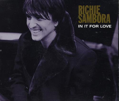 Richie Sambora In It For Love 2-CD single set (Double CD single) UK RSB2SIN364652