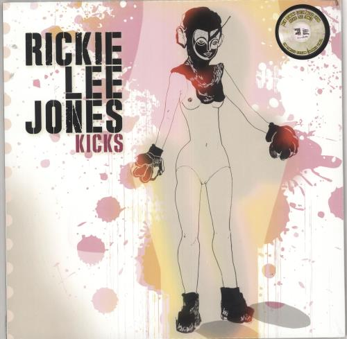 Rickie Lee Jones Kicks - Clear w/ Silver, Yellow & Pink Splatter Vinyl - Sealed vinyl LP album (LP record) UK RLJLPKI724804