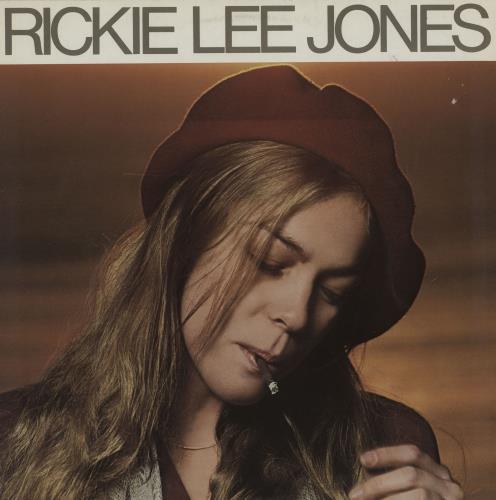 Rickie Lee Jones Rickie Lee Jones vinyl LP album (LP record) German RLJLPRI754000