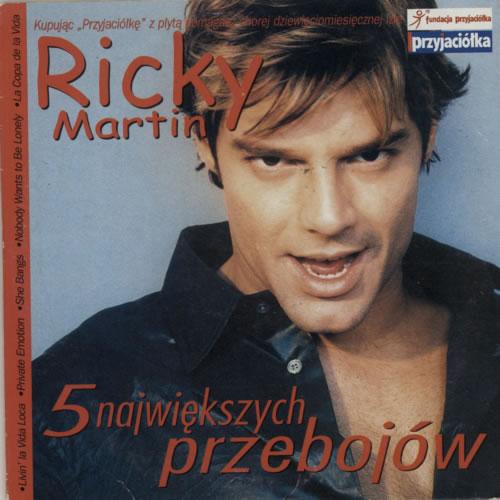 """Ricky Martin 5 Najwiekszych Przebojow CD single (CD5 / 5"""") Polish RKMC5NA276946"""