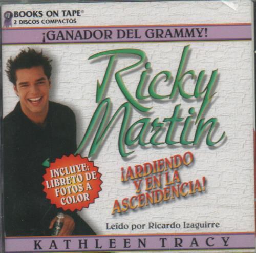Ricky Martin Ardiendo Y En La Ascendencia Biography 2 CD album set (Double CD) Mexican RKM2CAR247765