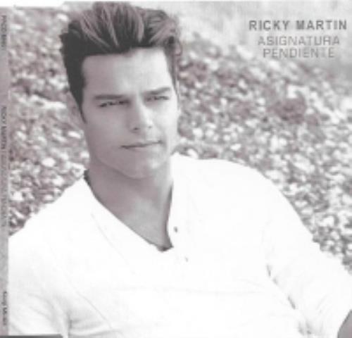 "Ricky Martin Asignatura Pendiente CD single (CD5 / 5"") Mexican RKMC5AS256083"
