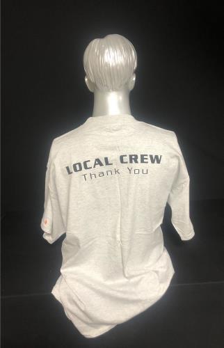 Ricky Martin Livin' La Vida Loca Tour - Local Crew t-shirt UK RKMTSLI729075