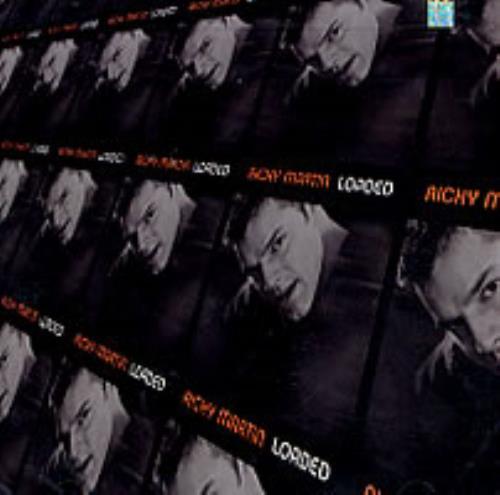 """Ricky Martin Loaded CD single (CD5 / 5"""") US RKMC5LO185805"""