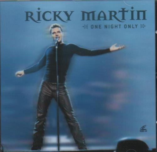 Ricky Martin One Night Only Video CD Thailand RKMVDON151826