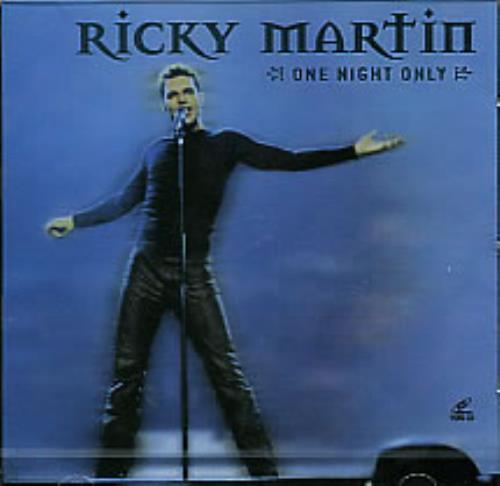 Ricky Martin One Night Only Video CD Korean RKMVDON281854