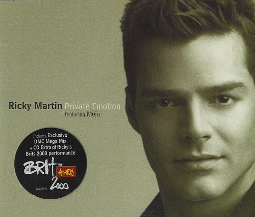 Ricky Martin Private Emotion 2-CD single set (Double CD single) UK RKM2SPR155048