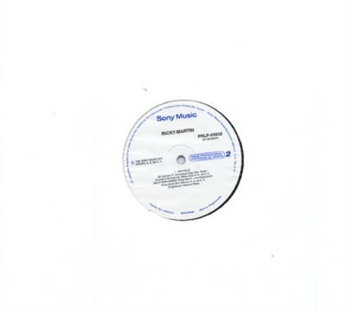 "Ricky Martin Ser Feliz 12"" vinyl single (12 inch record / Maxi-single) Mexican RKM12SE309643"