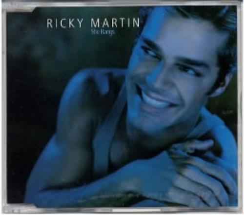 "Ricky Martin She Bangs CD single (CD5 / 5"") Australian RKMC5SH166741"