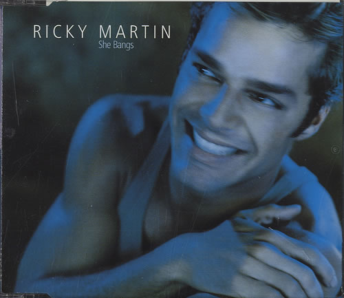 "Ricky Martin She Bangs CD single (CD5 / 5"") UK RKMC5SH171542"