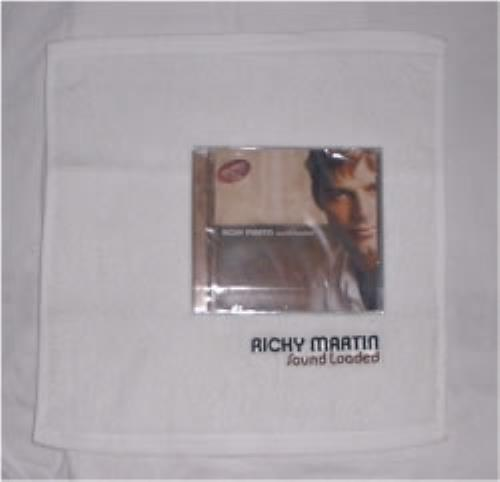 Ricky Martin Sound Loaded & towel CD album (CDLP) Thailand RKMCDSO175195