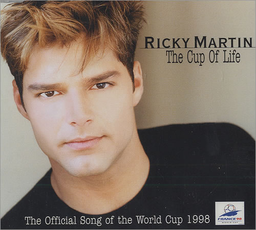 """Ricky Martin The Cup Of Life CD single (CD5 / 5"""") UK RKMC5TH137631"""