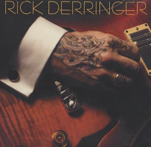 Rick Derringer Free Ride CD-R acetate US RDRCRFR381050