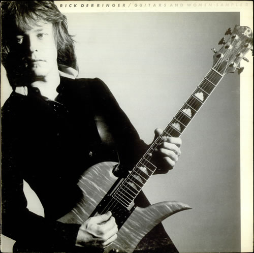 "Rick Derringer Guitars And Women Sampler 12"" vinyl single (12 inch record / Maxi-single) US RDR12GU535797"