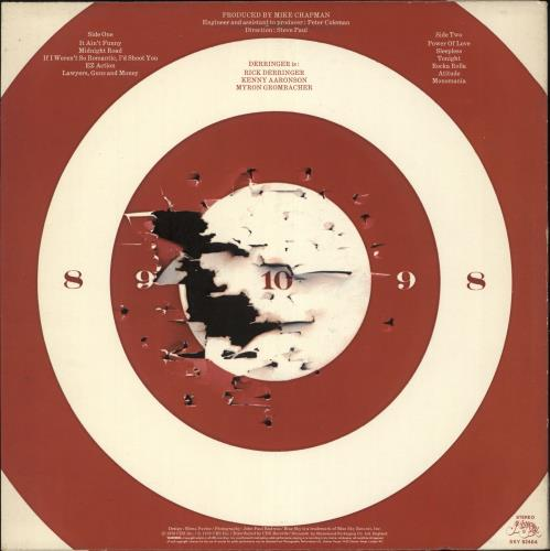 Rick Derringer If I Weren't So Romantic, I'd Shoot You vinyl LP album (LP record) UK RDRLPIF714203