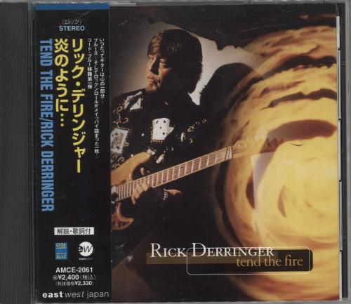 Rick Derringer Tend The Fire CD album (CDLP) Japanese RDRCDTE729157