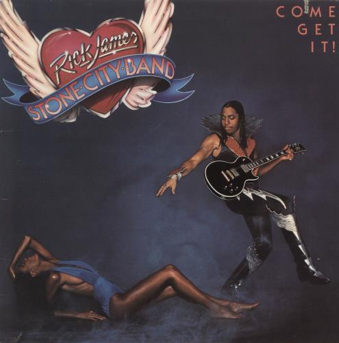 Rick James Come Get It! vinyl LP album (LP record) US R-JLPCO588779