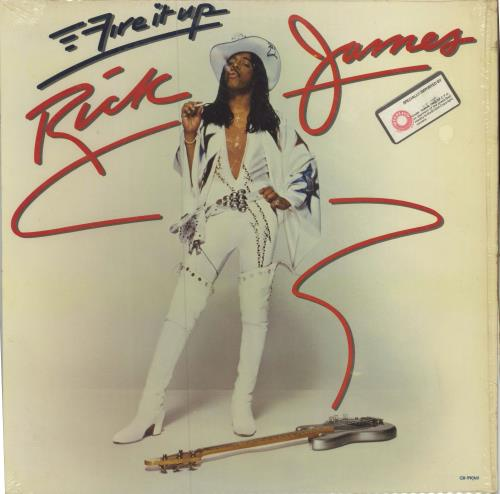 Rick James Fire It Up vinyl LP album (LP record) US R-JLPFI588992