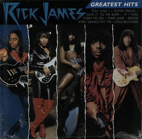 Rick James Greatest Hits - Sealed vinyl LP album (LP record) German R-JLPGR572867