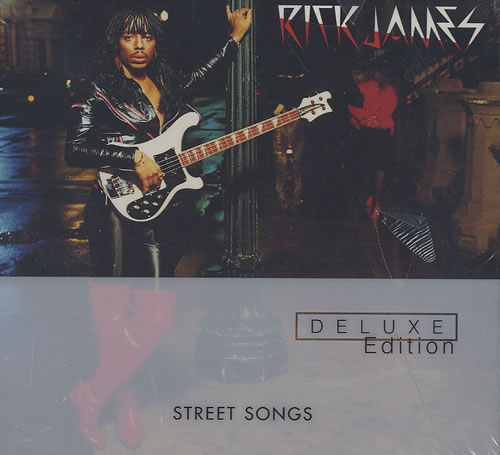 Rick James Street Songs: 20th Anniversary Deluxe Edition 2 CD album set (Double CD) US R-J2CST436454