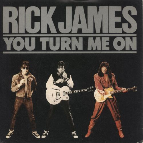 "Rick James You Turn Me On 7"" vinyl single (7 inch record) UK R-J07YO740680"