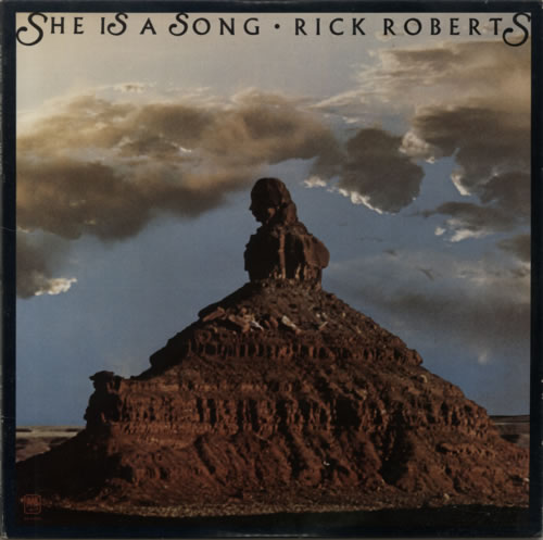 Rick Roberts She Is A Song vinyl LP album (LP record) US R0BLPSH595082