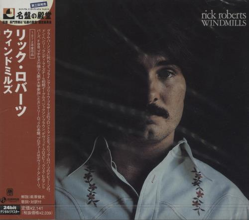 Rick Roberts Windmills - Sealed CD album (CDLP) Japanese R0BCDWI672952