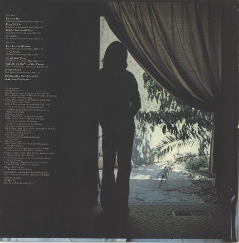 Rick Roberts Windmills vinyl LP album (LP record) US R0BLPWI719658
